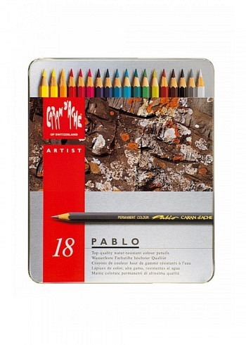"666.318, 18 water resistant pencils ""Pablo"""