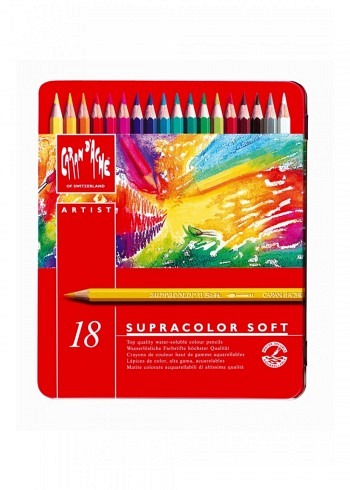 """3888.318, 18 water soluble pencils """"Supracolor"""""""