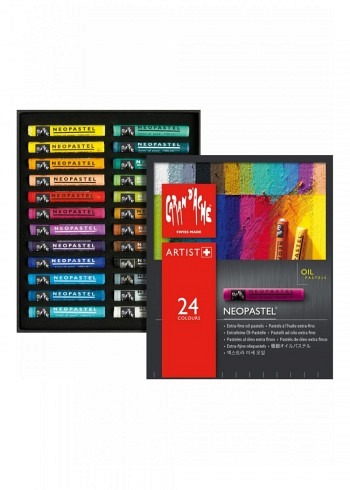 "7400.324, 24 oil pastels ""Neopastel"""
