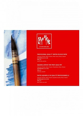 454.006, Professional Aquarelle Paper, 31x41cm, 300gr, 20 Sheets