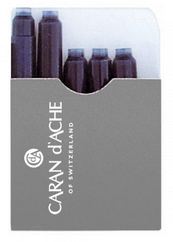8028.009, Caran d'Ache, Ink Cartridge, Black