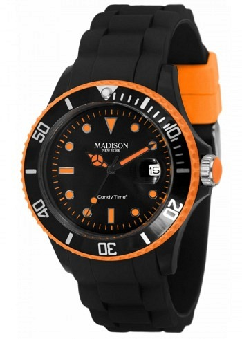 U4485-42, Candy Time, Black Line, Orange