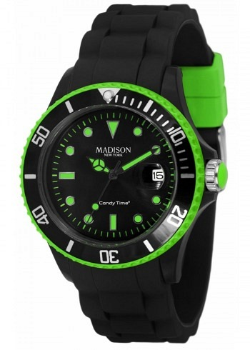 U4485-44, Candy Time, Black Line, Green