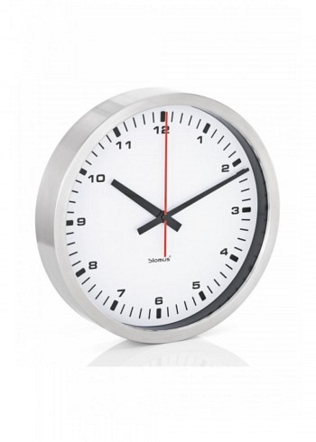 6957625, Blomus, Wall Clock 300mm, White