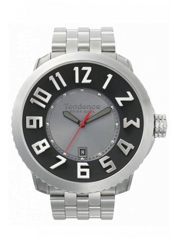 TG450052, Tendence, Steel Bracelet, Black/Grey