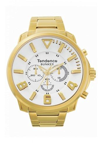 TG860002, Tendence, Bunker, Chrono, Yellow Gold