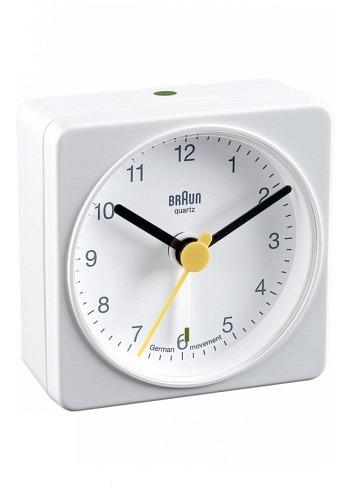 BNC002, Braun, Alarm Clock, White
