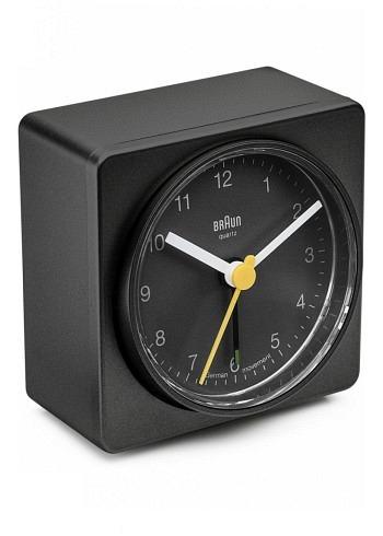 BNC011, Braun, Alarm Clock, Black
