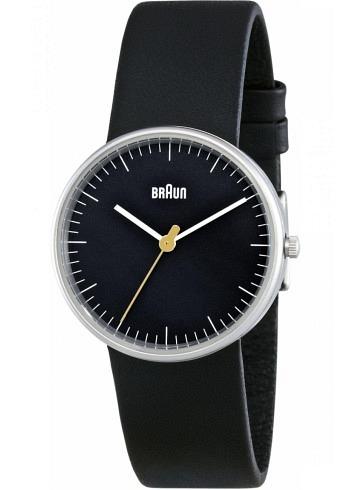 BN0021, Braun, Classic 31mm, Ladies, Black Dial, Leather Strap