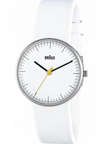 BN0021, Braun, Classic 31mm, Ladies, White Dial, Leather Strap