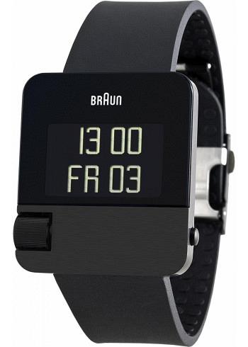 BN0106, Braun, Prestige PVD 42x37mm, Black, Rubber Strap