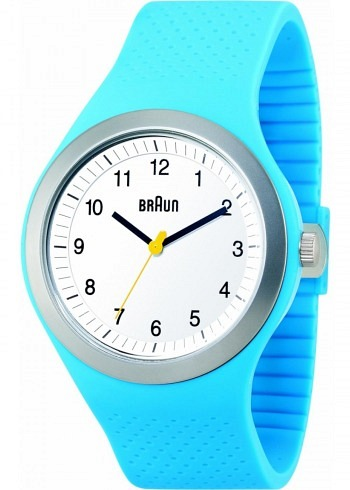 BN0111, Braun, Sport 46mm, White Dial, Blue Case