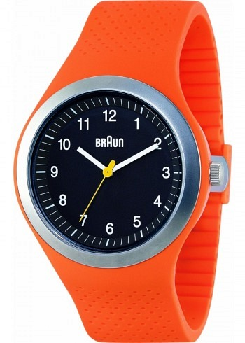 BN0111, Braun, Sport 46mm, Black Dial, Orange Case