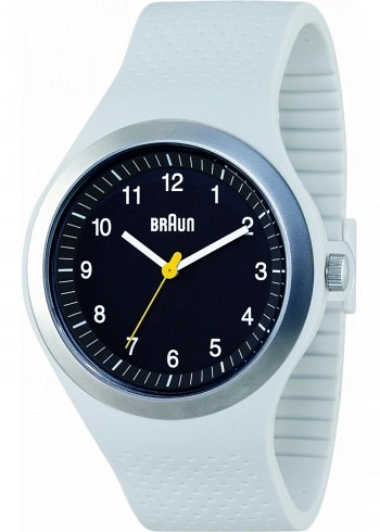 BN0111, Braun, Sport 46mm, Black Dial, Light Grey Case