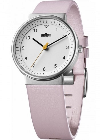 BN0031, Braun, Classic 33mm, Ladies, White Dial, Leather Strap Pink