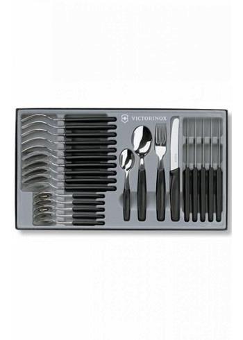 5.1333.24, Victorinox, Tableware, 24 Pieces, Black