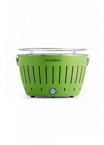 9208216, Lotus, Charcoal Barbecue 34cm, Green
