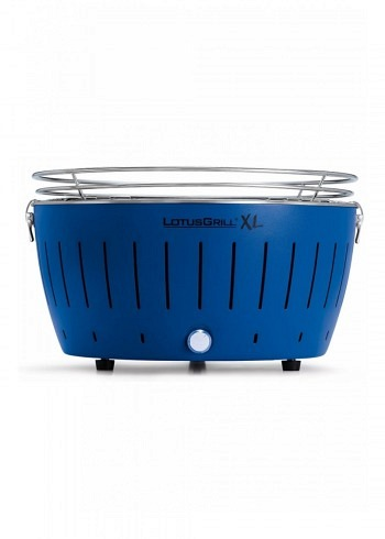 9208885, Lotus XL, Charcoal Barbecue 40cm, Blue