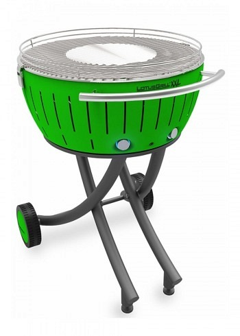 9209529, Lotus XXL, Charcoal Barbecue 58cm, Green