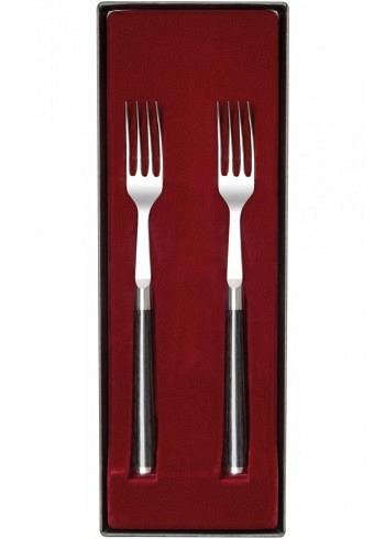 DMS-990, KAI SHUN, Damask Steel 32 Layers, Fork Set