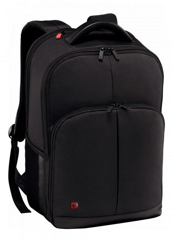 601072, Wenger, Business Rucksack, Link Black, 21 Liter