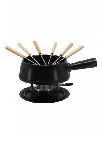 "100017, Kadastar, cheese fondue set medium ""Pure"", 9 pieces, 1.4 Liter"