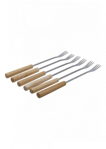 "100004, Kadastar, cheese fondue forks ""Element"", set of 6"