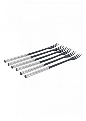 "100007, Kadastar, cheese fondue forks ""Protect Inox"", set of 6"
