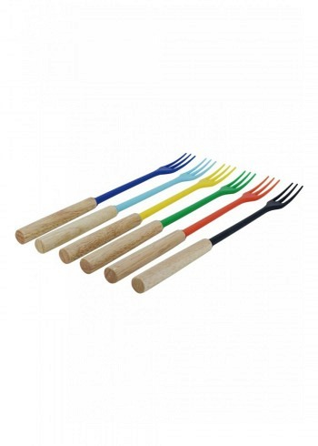 "100008, Kadastar, cheese fondue forks ""Element"", set of 6"